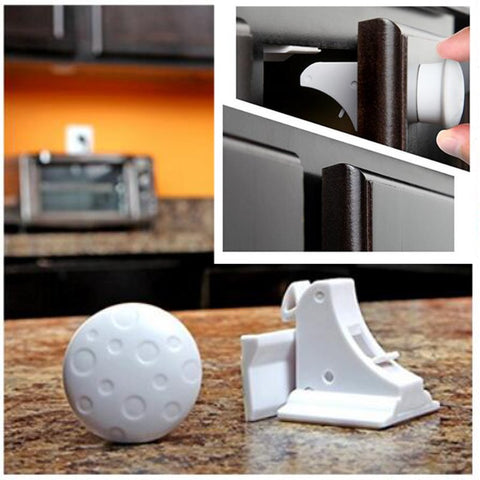 Image of Magnetic Cabinet Door Locks