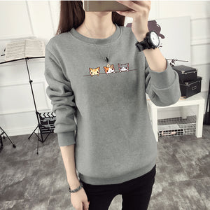Curious Cats Sweater