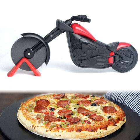 Image of Unique Motorcycle Pizza Cutter