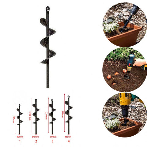 Image of Practical Spiral Gardening Drill Tool