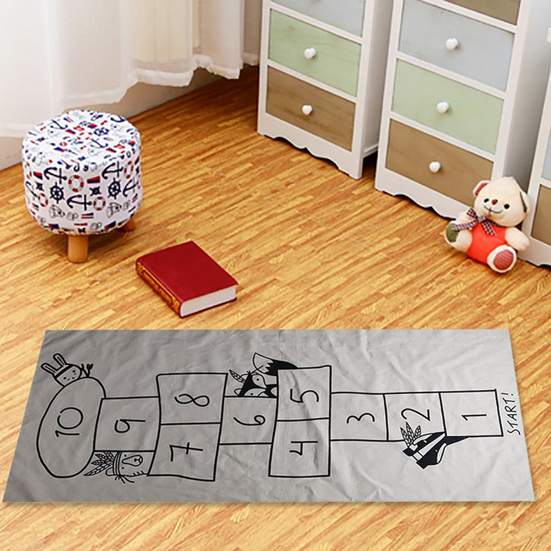 Fabric Hopscotch Play Mat