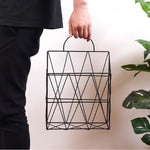 Geometric Wall Shelf Organizer