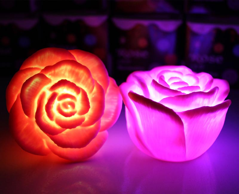 Rose Night Light