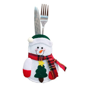 Cute Christmas Cutlery Holder