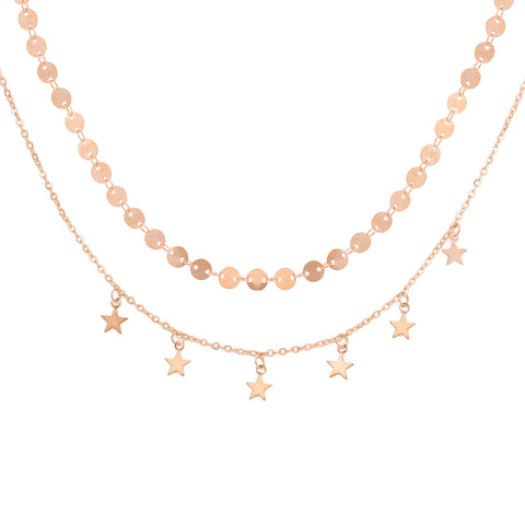 Starry Double-Layered Choker