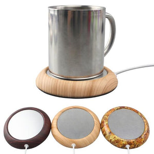 Wood Grain Cup Warmer