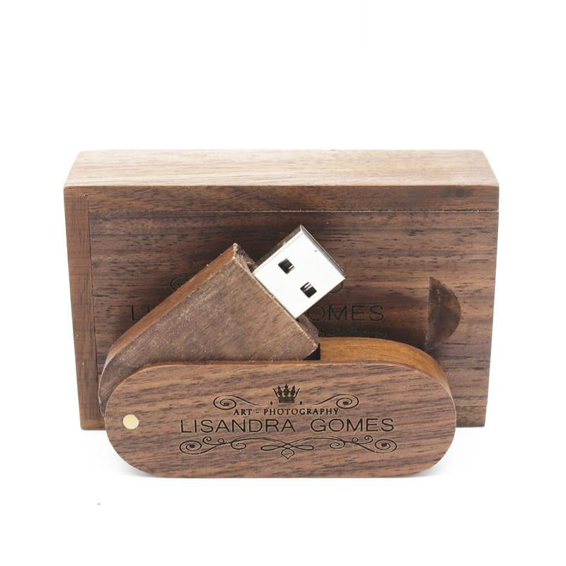 Personalised Wooden Flash Drive