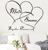 Personalized Couple Wall Sticker