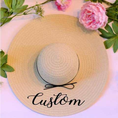 Image of Personalized Sun Hat