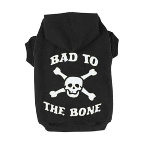 Bad To The Bone Puppy Hoodie