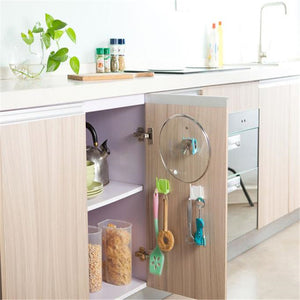 Wall-Mount Kitchen Storage Racks