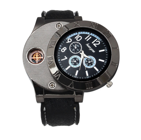 Image of Cigarette Lighter Watch
