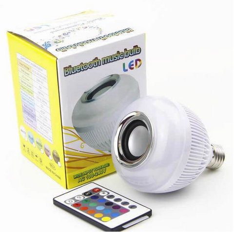 Image of Wireless Bluetooth Light Bulb Speaker