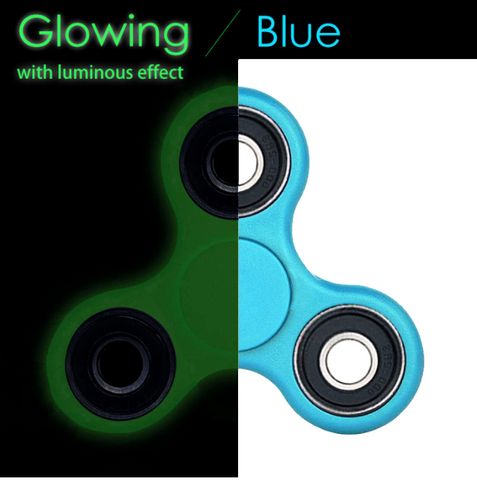 Glowing Fidget Spinner