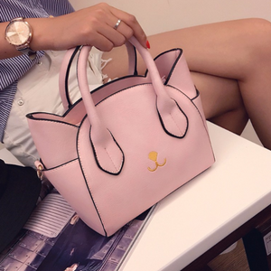 Leather Kitty Handbag