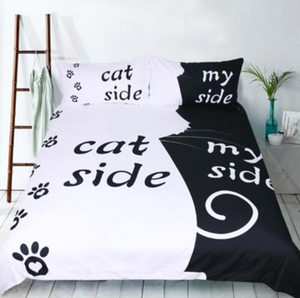 Cat/Dog Lover Duvet Set