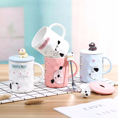 Image of Lucky Dog Mug Set