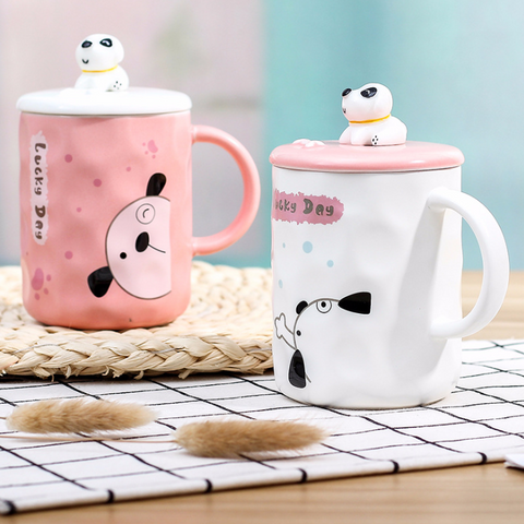Lucky Dog Mug Set