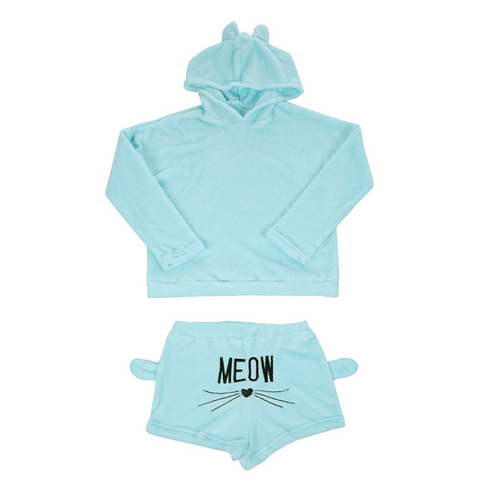 Luxury Kitty Pyjamas Set