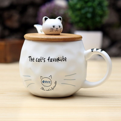 The Cat's Favorite Mug