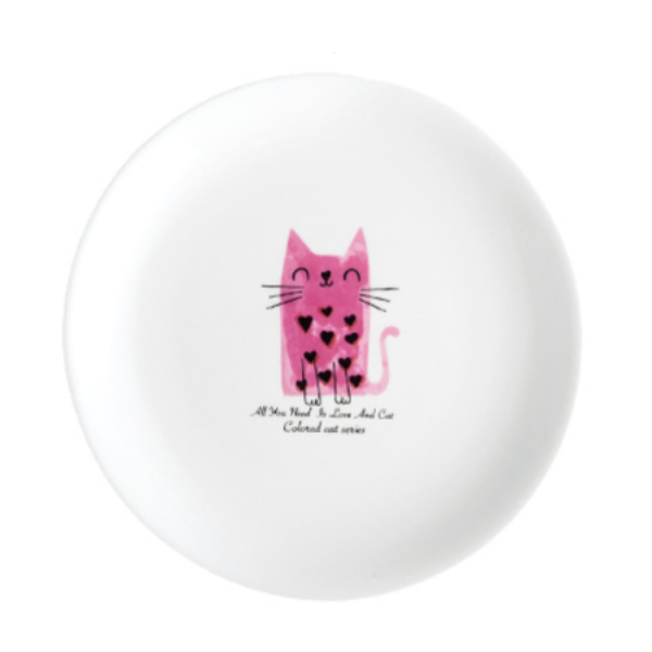 Pastel Ceramic Kitty Dish