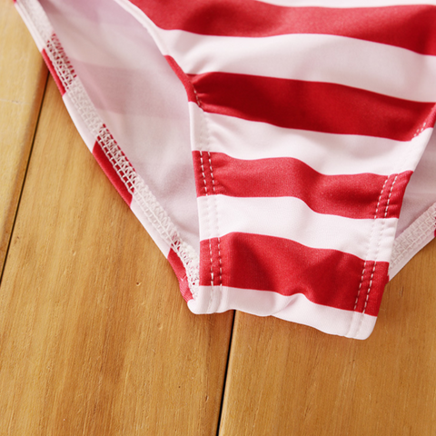 Image of Baby's American Halter Swimsuit