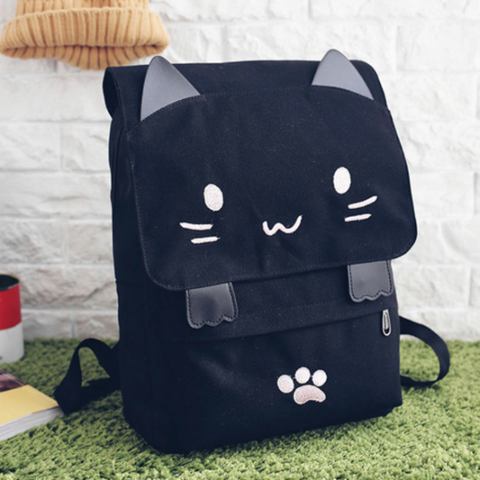 Cute Kitty Backpack