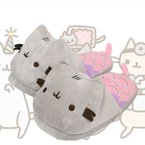 Image of Kitty Mermaid Slippers