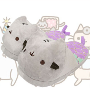 Kitty Mermaid Slippers