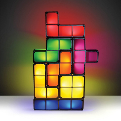 Tetris Puzzle Desk Lamp