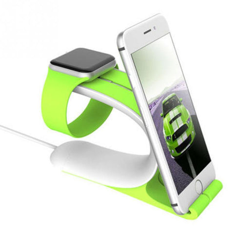 Image of Smart Watch Charging Phone Stand