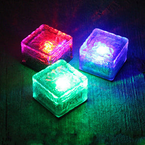 Ice Block Yard Lights