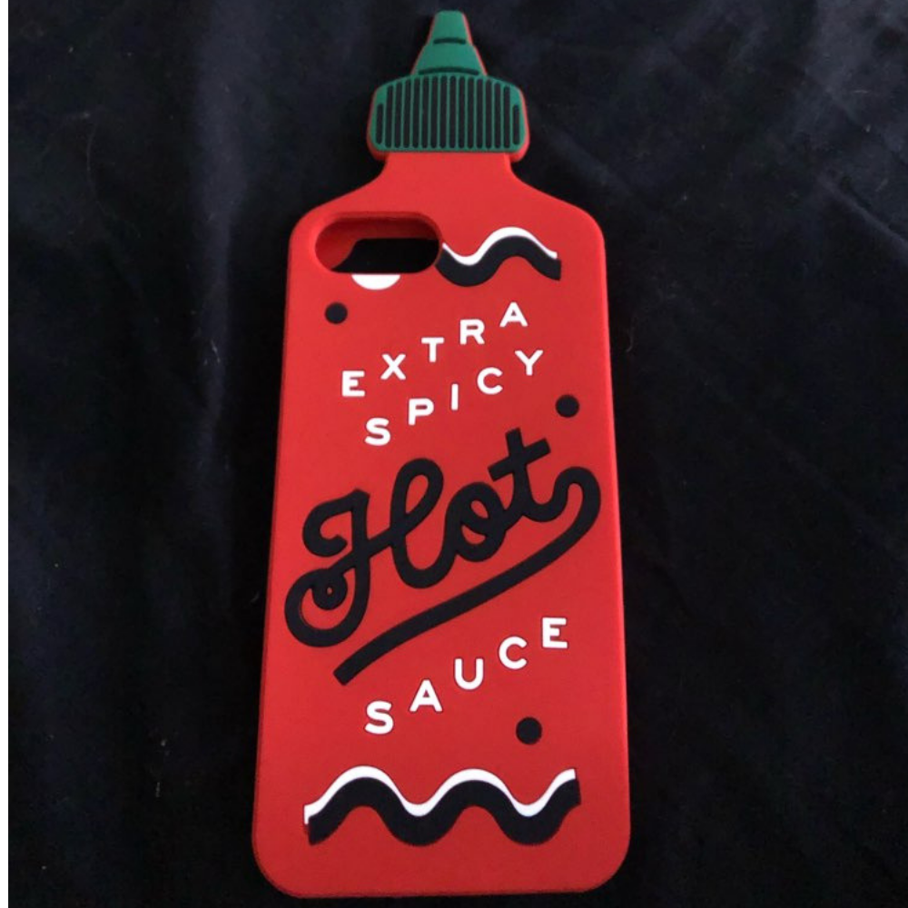 Striking Hot Sauce iPhone Cover