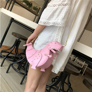 Quirky Dino Crossbody Bag