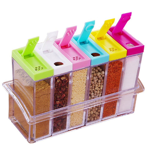 Image of Compact Spice Storage Containers