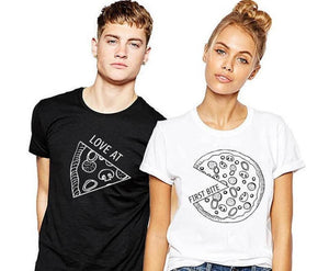 Love At First Bite Couple Tee