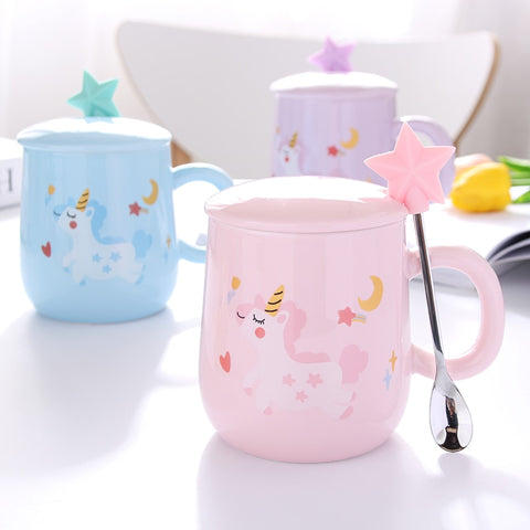 Image of Starry Unicorn Mug