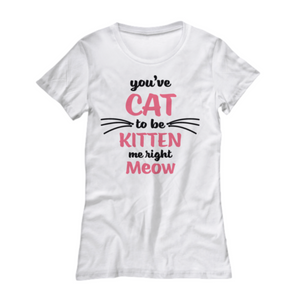 Kitten Me Tshirt (Nine Yards Exclusive)