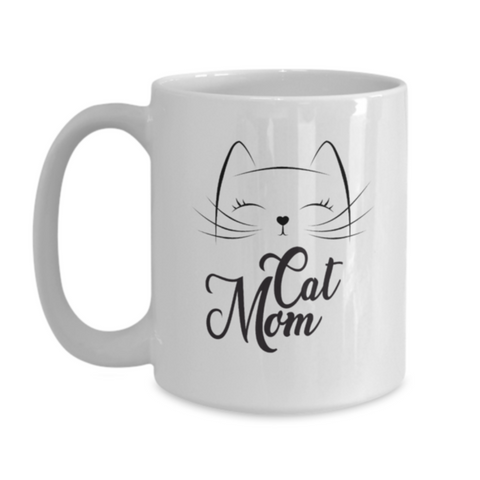 Cat Mom Mug (Nine Yards Exclusive)