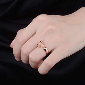 Sophisticated Leopard Ring