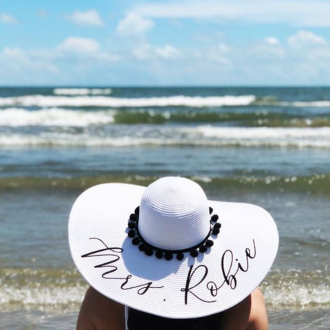 Image of Personalized Floppy Sun Hat