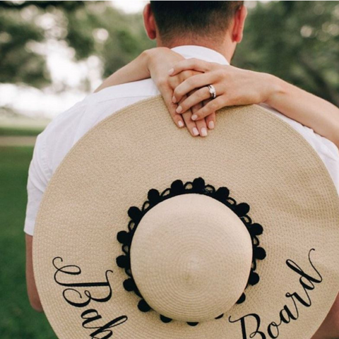Personalized Floppy Sun Hat