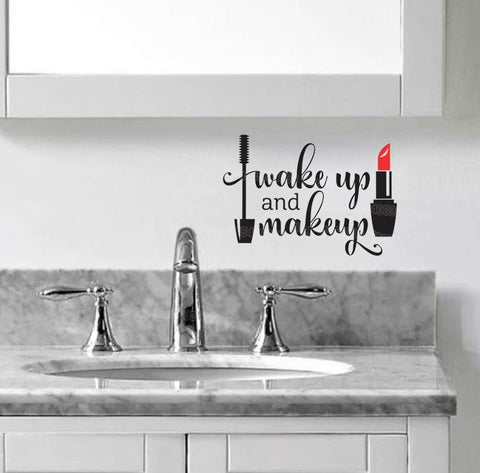 Chic Wakeup Wall Sticker