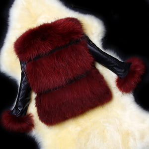 Trendy Faux Fur Outerwear