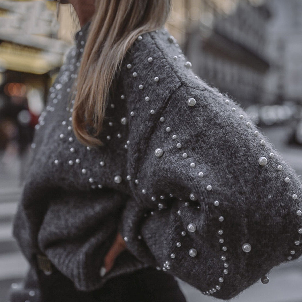 Comfy Pearl Knitted Pullover