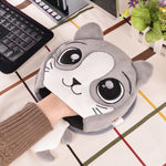 Cute Animals Heated Mouse Pad
