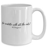 Cat Lovers Goal Mug (Nine Yards Exclusive)