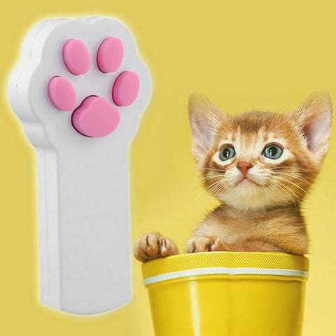 Paw-some Cat Laser Toy