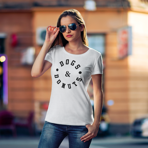 Image of Dogs & Donuts Tshirt (Nine Yards Exclusive)