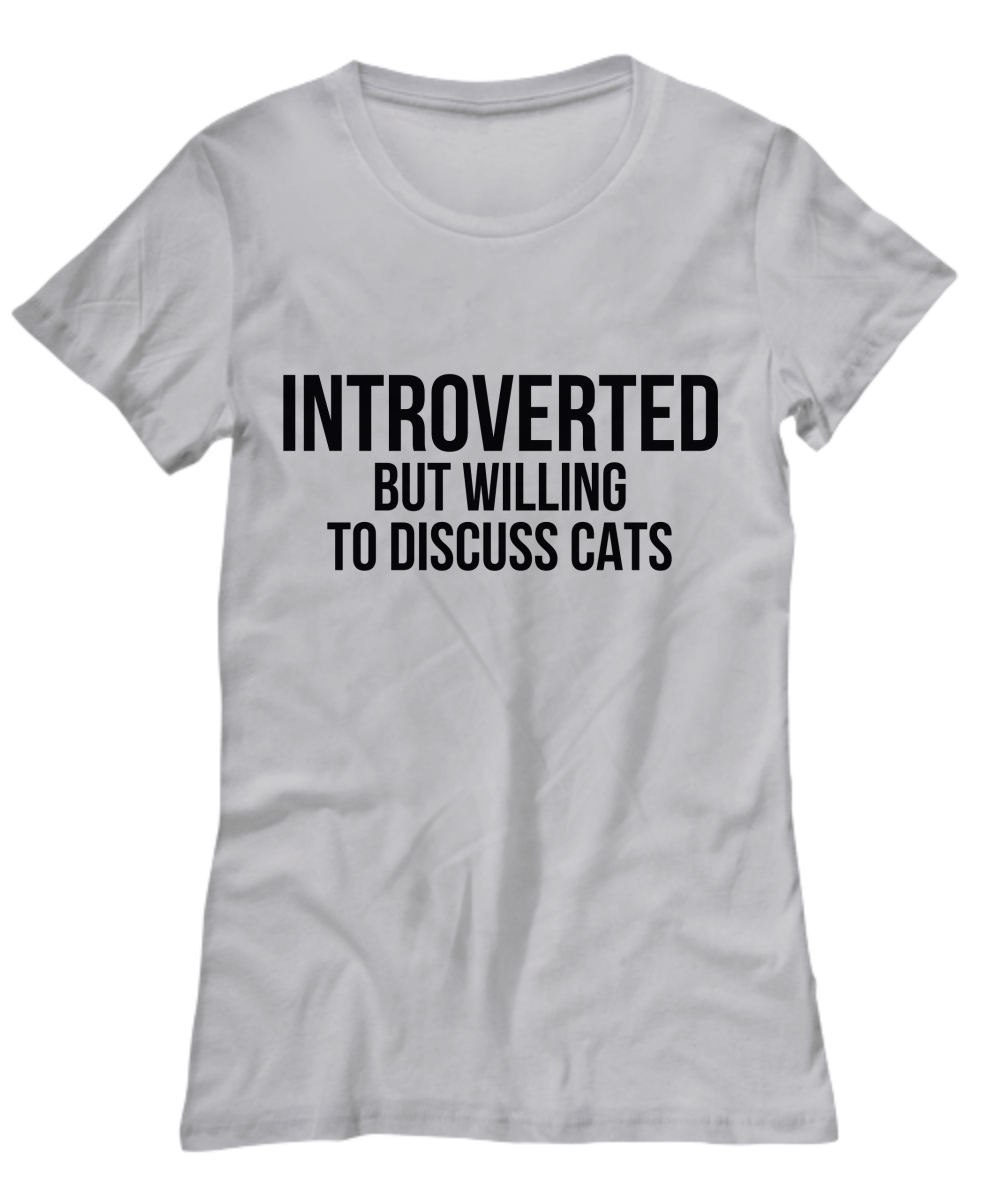 Introverted Cats Women's Tee (Nine Yards Exclusive)